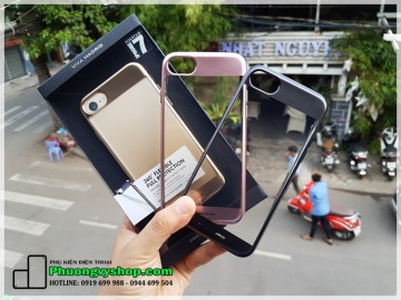 Ốp silicon 360độ FLEXIBLE FULL VIVA cho Iphone 7 Plus